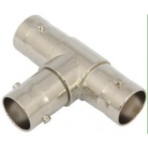 T CONNECTOR (FEMALE TO TWO FEMALE)