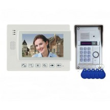 SP 4 FLOOR VIDEO DOOR PHONE WITH RFID TAGS