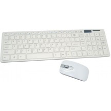 WIRELESS KEYBOARD MOUSE COMBO (BLACK & WHITE)